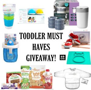 Toddler Must Haves Giveaway
